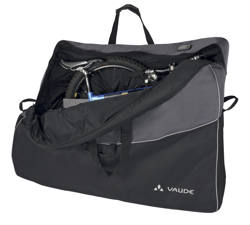VAUDE Big Bike Bag black/anthracite Größ